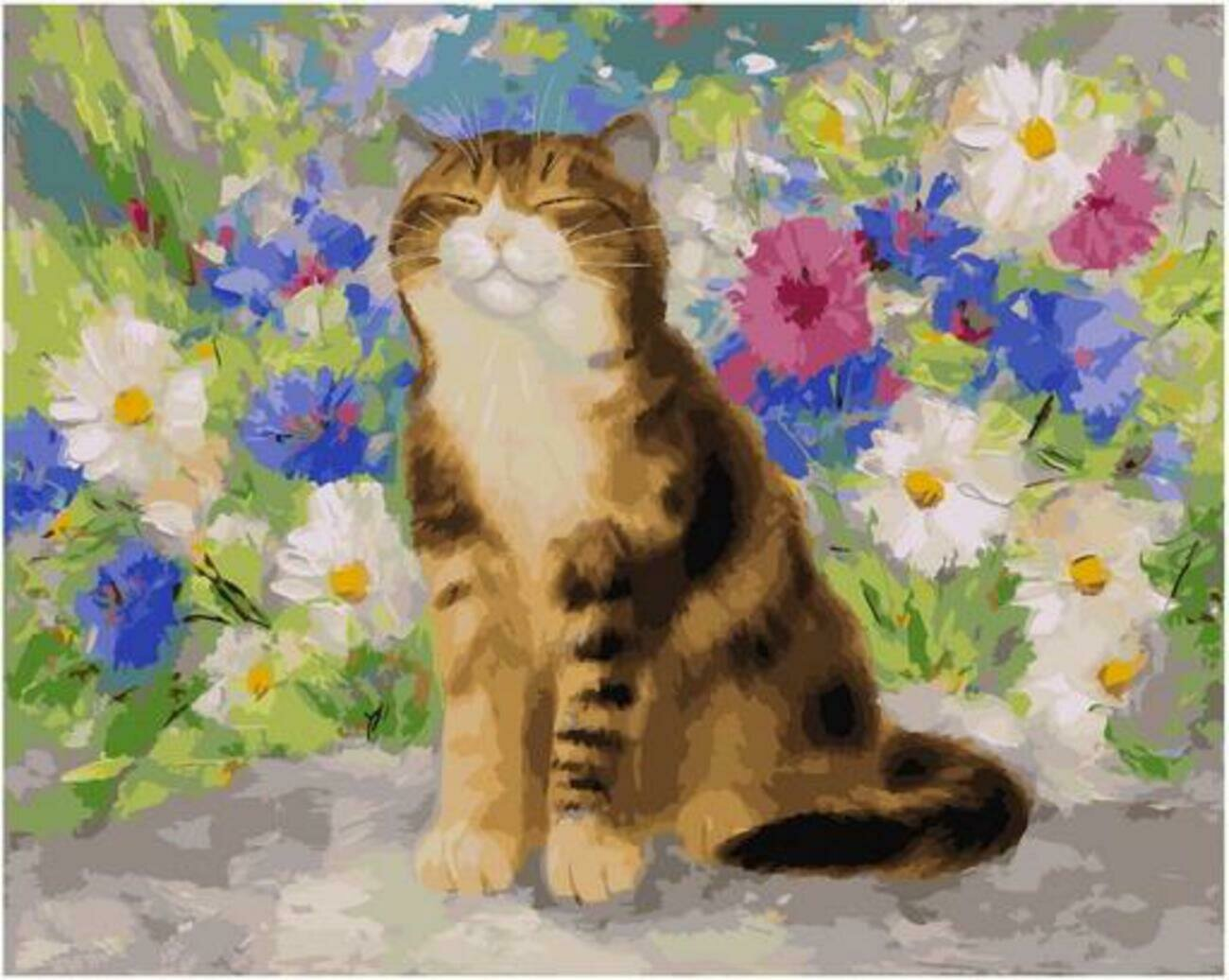 Картина по номерам Paintboy Original PK 90018 Дачник (Котинова Галина) 40x50см