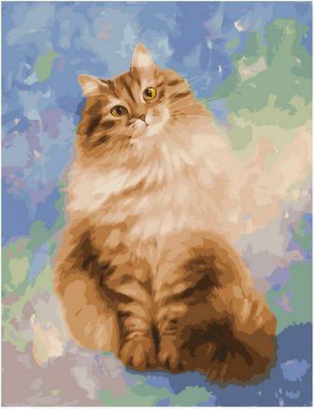 Картина по номерам Paintboy Original PK 90019 Мурка (Котинова Галина) 40x50см