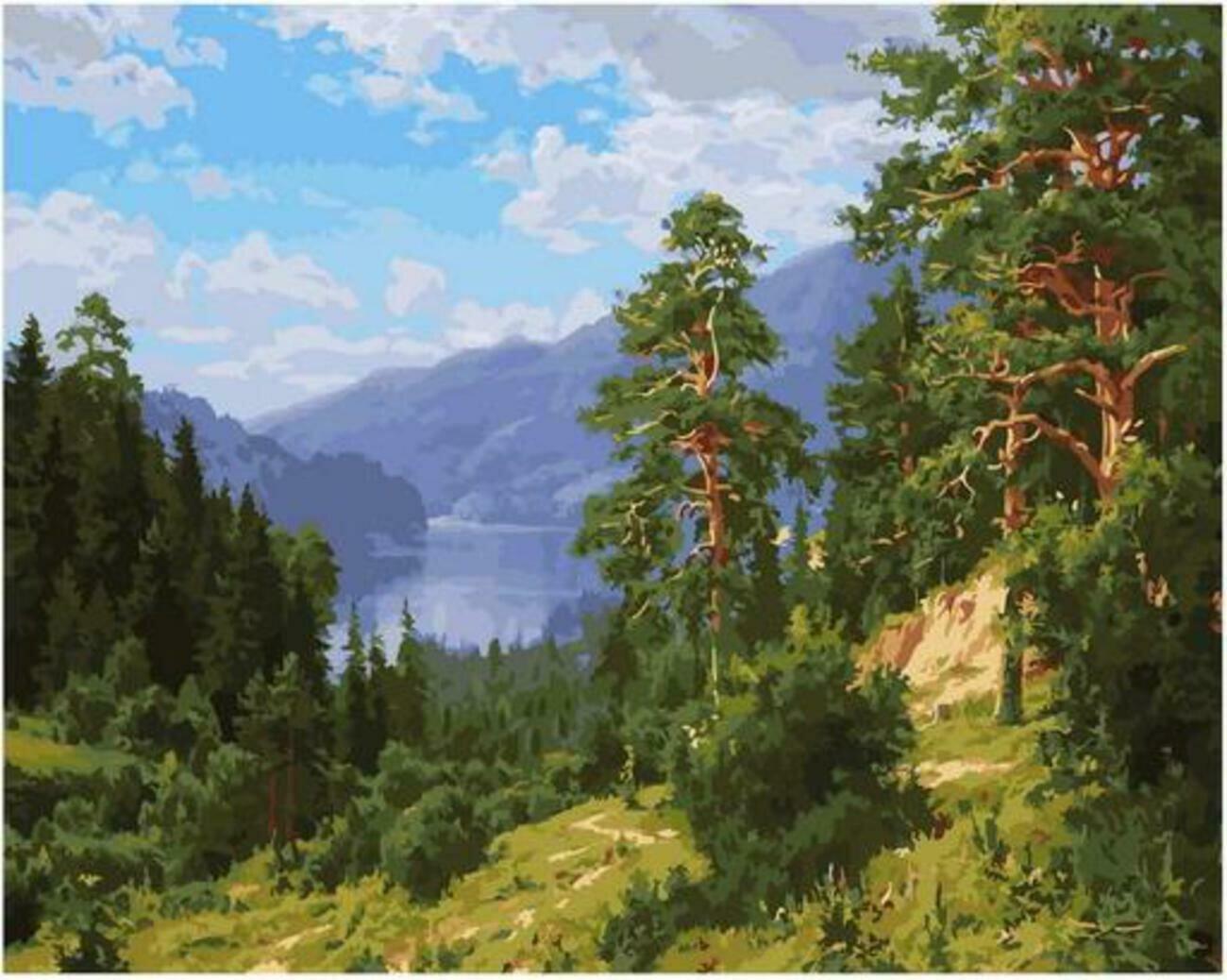 Картина по номерам Paintboy Original PK 90002 Август (Басов Сергей) 40x50см