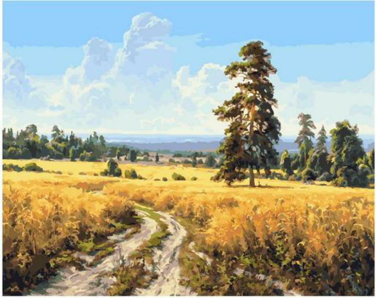 Картина по номерам Paintboy Original PK 90003 (GX 25617) Август (Басов Сергей) 40x50см