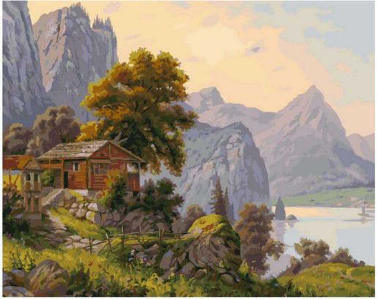 Картина по номерам Paintboy Original PK 90031 Уютный уголок (Прищепа Игорь) 40x50см