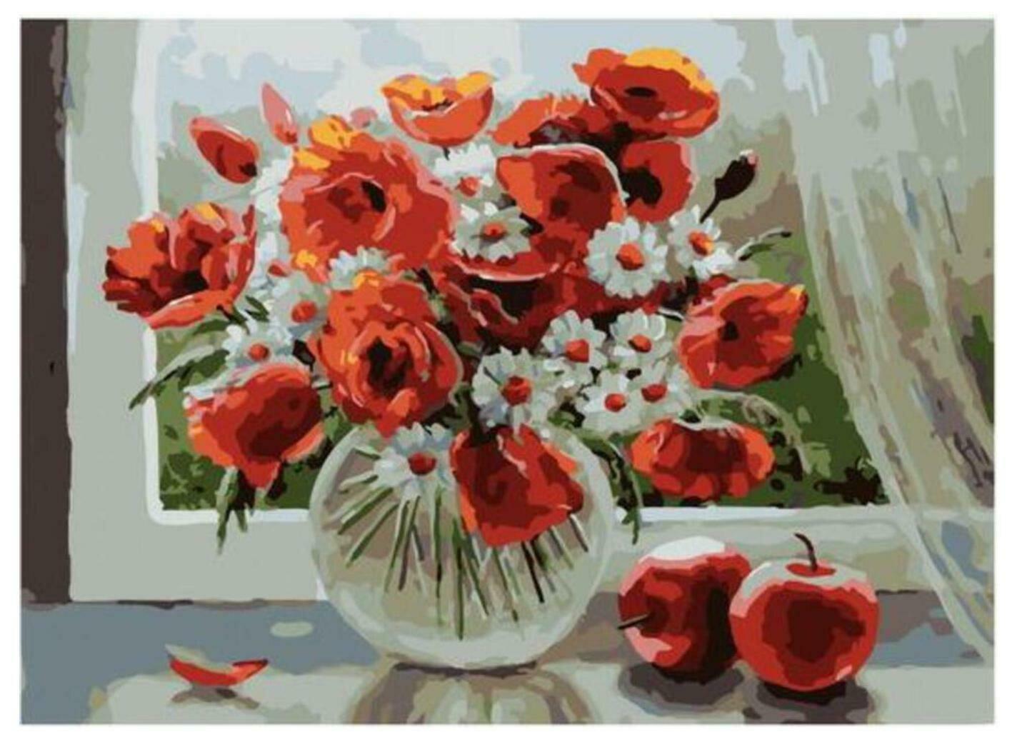 Картина по номерам Paintboy Original PKC 79023 Летний день (Воробьёва Ольга) 30*40