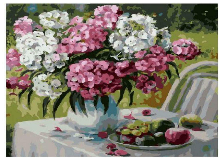 Картина по номерам Paintboy Original PKC 79057 Флоксы в моем саду (Воробьёва Ольга) 30*40
