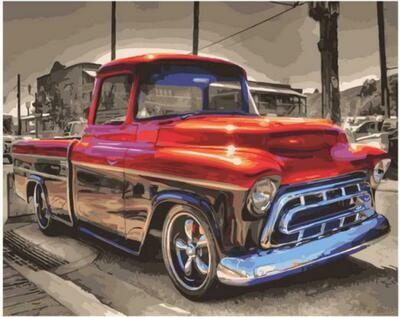 Картина по номерам Paintboy Original GX 38170 Автомобиль Бадди 40x50см