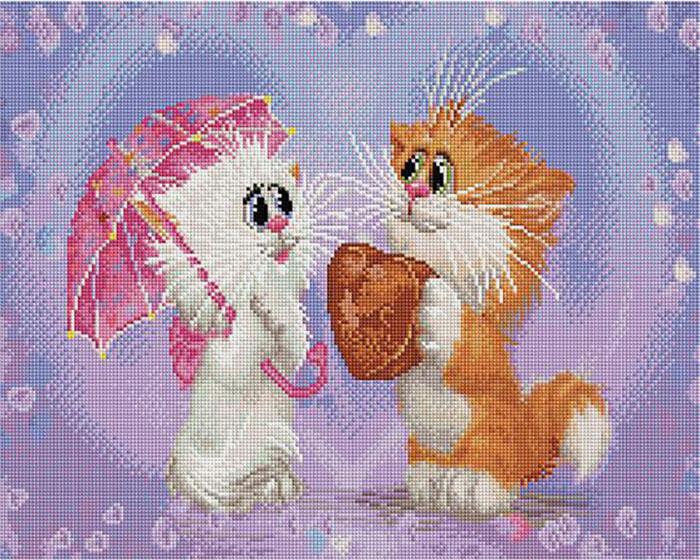 Алмазная мозаика Paintboy APK 76002 Признание (Долотов Алексей) 40x50см