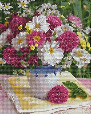 Алмазная мозаика Paintboy GF 4463 Полевой букет 40x50см