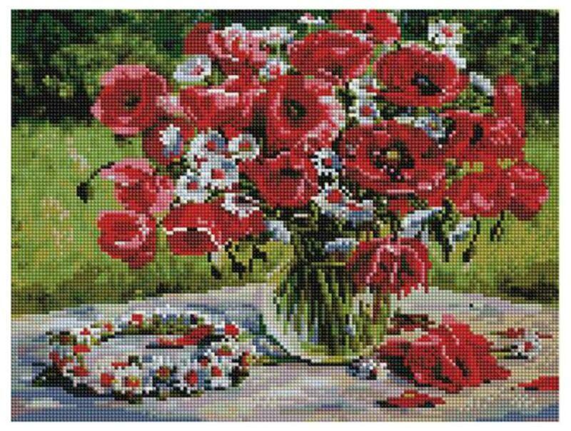 Алмазная мозаика Paintboy ACPK 79022 Летние прогулки (Воробьёва Ольга) 30*40