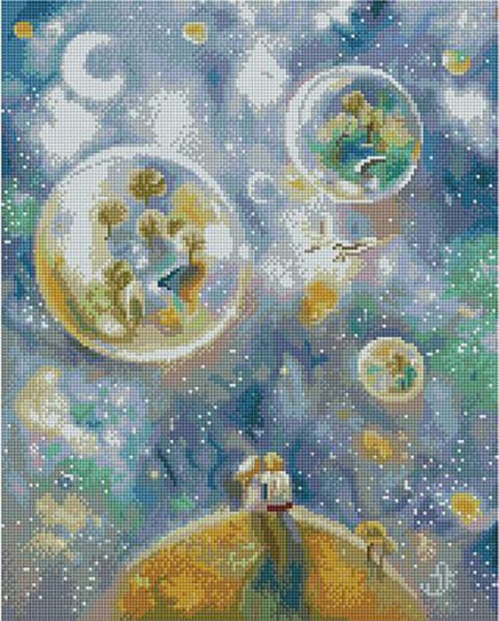 Алмазная мозаика Paintboy APK 59001 Двое/ Цветущие сады (Логинова Аннет) 40x50см