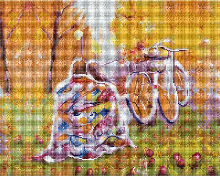 Алмазная мозаика Paintboy APK 59007 Время двоих: ноябрь/Под пледом (Логинова Аннет) 40x50см