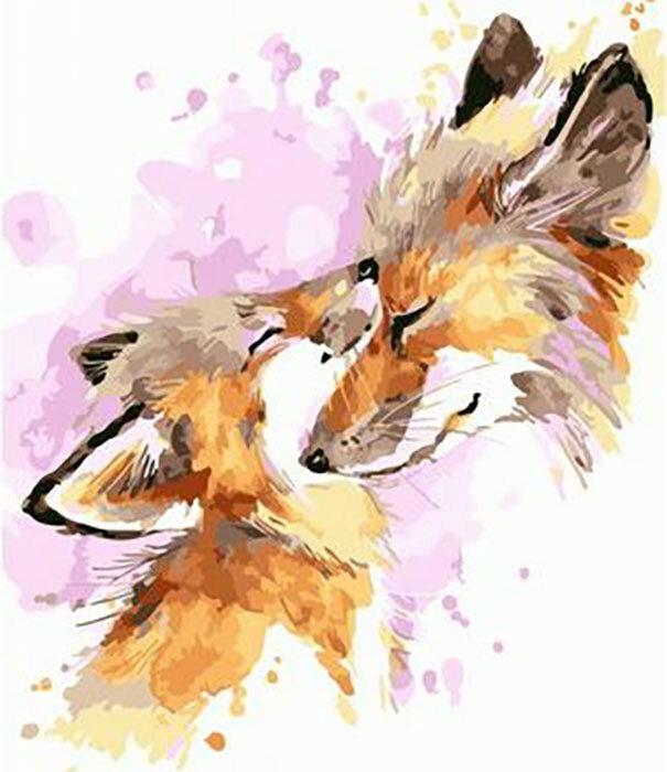 Картина по номерам PKC 76006 Любовь мамы (Фаенкова Елена) 30*40