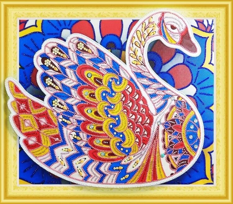 Алмазная мозаика LP026, 3D эффект 40х50см