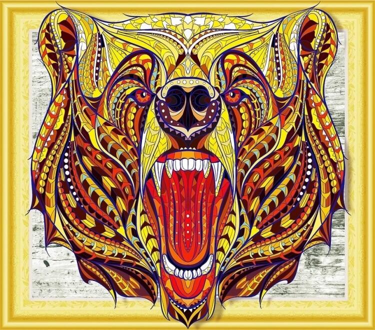 Алмазная мозаика LP004, 3D эффект 40х50см