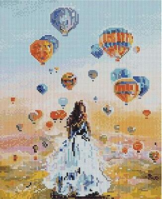 Алмазная мозаика Paintboy ACPK 59005 Там, где рождаются мечты (Логинова Аннет) 30х40см