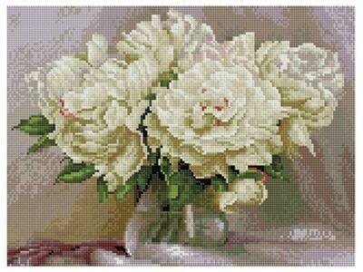 Алмазная мозаика Paintboy ACPK 59023 Свежий букет (Бузин Игорь) 30х40см