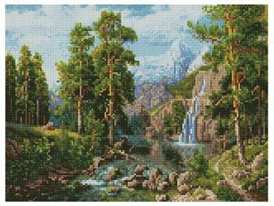 Алмазная мозаика Paintboy ACPK 59026 Пейзаж с водопадом (Потапов Виталий) 30х40см
