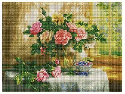 Алмазная мозаика Paintboy ACPK 59015 Натюрморт с голубикой (Сатаров Михаил) 30х40см