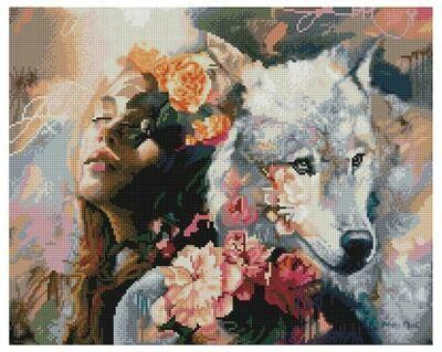 Алмазная мозаика Paintboy GF 4536 Верные души 40x50см