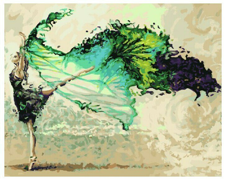 Картина по номерам Paintboy GX 9470 Полёт фантазии 40x50см