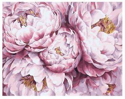 Картина по номерам Paintboy GX 29483 В облаках пионов 40x50см
