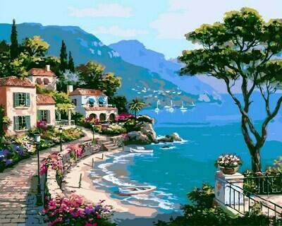 Картина по номерам Paintboy GX 6919 Морской пейзаж 40x50см