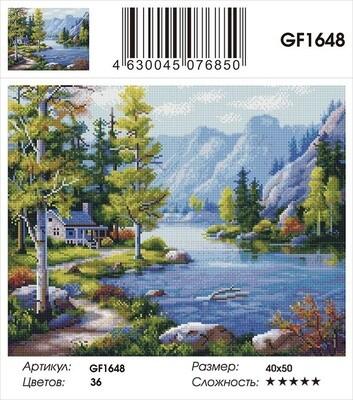 Алмазная мозаика 40x50 - GF1648