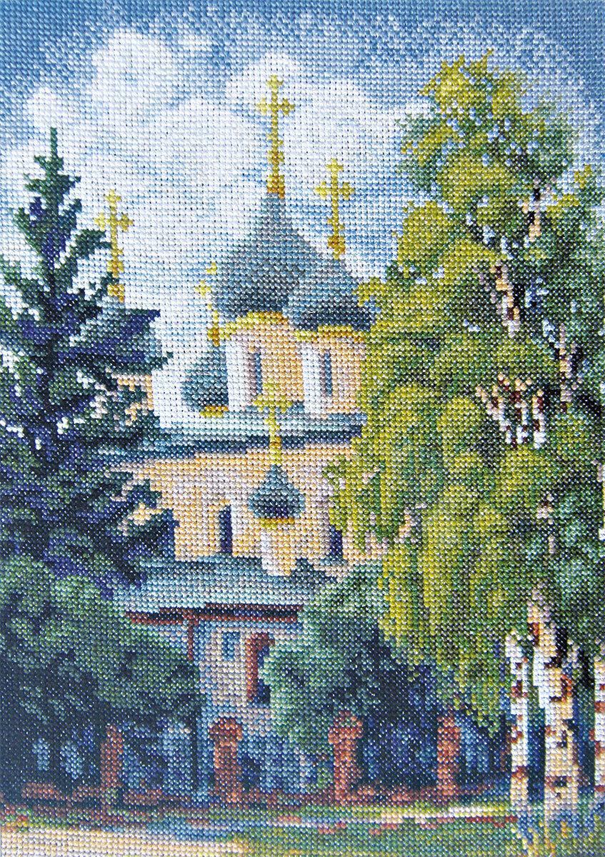 """Набор для вышивания """"PANNA"""" PS-0113 """"Церковь"""" 20.5x28.5 см"""