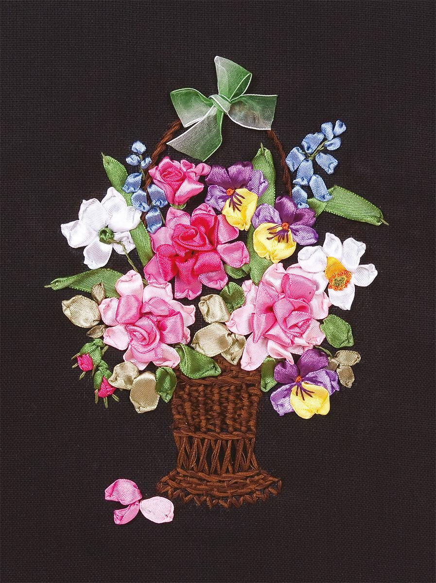 """Набор для вышивания """"PANNA"""" C-1157 """"Цветы для любимой"""" 19,5x26 см"""