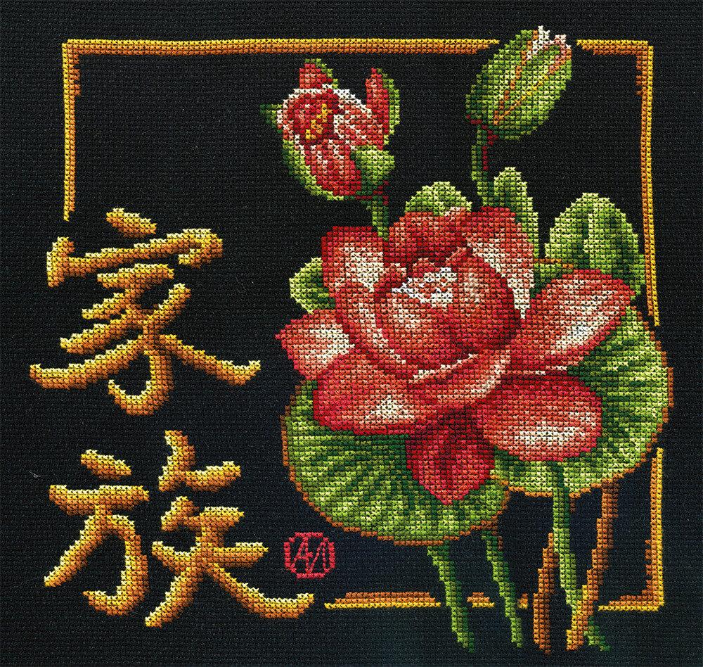 """Набор для вышивания """"PANNA"""" I-0157 """"Семья"""" 24x25,5 см"""