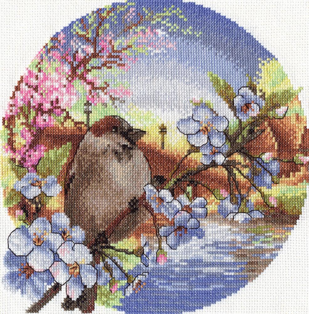 """Набор для вышивания """"PANNA"""" PT-0164 """"Теплый ветерок"""" 21,5x21,5 см"""