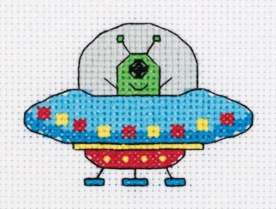 """""""Klart"""" набор для вышивания 8-440 """"НЛО"""" 10x8 см"""