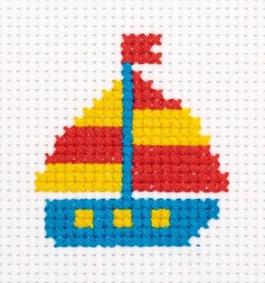 """""""Klart"""" набор для детского творчества 12-020 """"Кораблик"""" 7.5x8.5 см"""