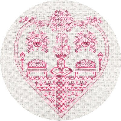 """Набор для вышивания """"PANNA"""" SO-1768 """"Розовый сад"""" 22x23 см"""