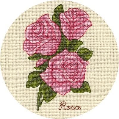 """Набор для вышивания """"PANNA"""" C-1808 """"Букетик роз"""" 13x17 см"""