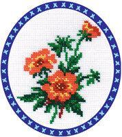 """Набор для вышивания """"PANNA"""" C-0069 """"Лапчатка"""" 17x22 см"""