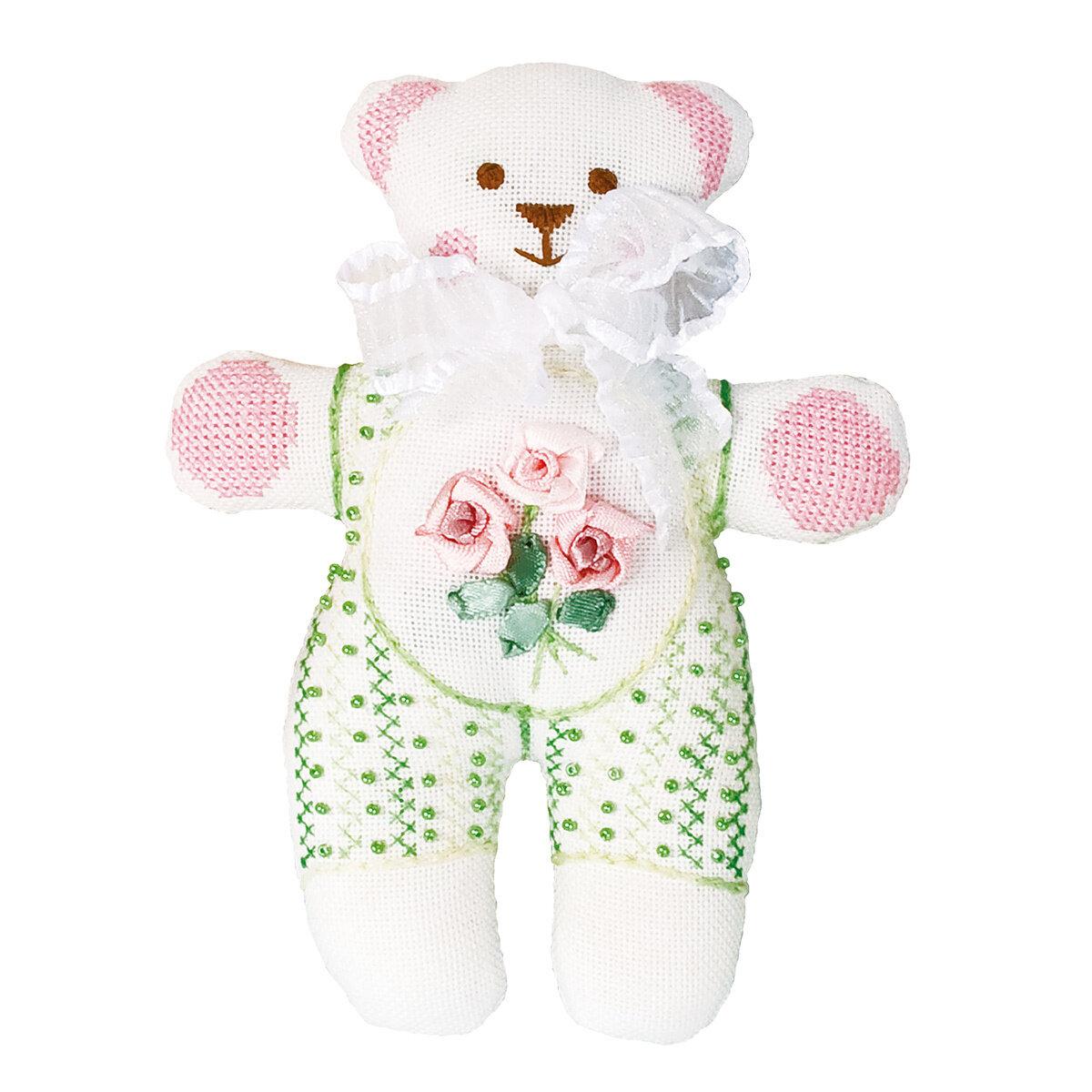 """Набор для вышивания """"PANNA"""" IG-1176 """"Мягкая игрушка. Мишка"""" 12x16 см"""