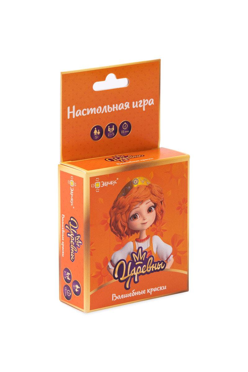 """Настольная игра Эврикус """"Царевны. Волшебные краски"""" BG-11105"""