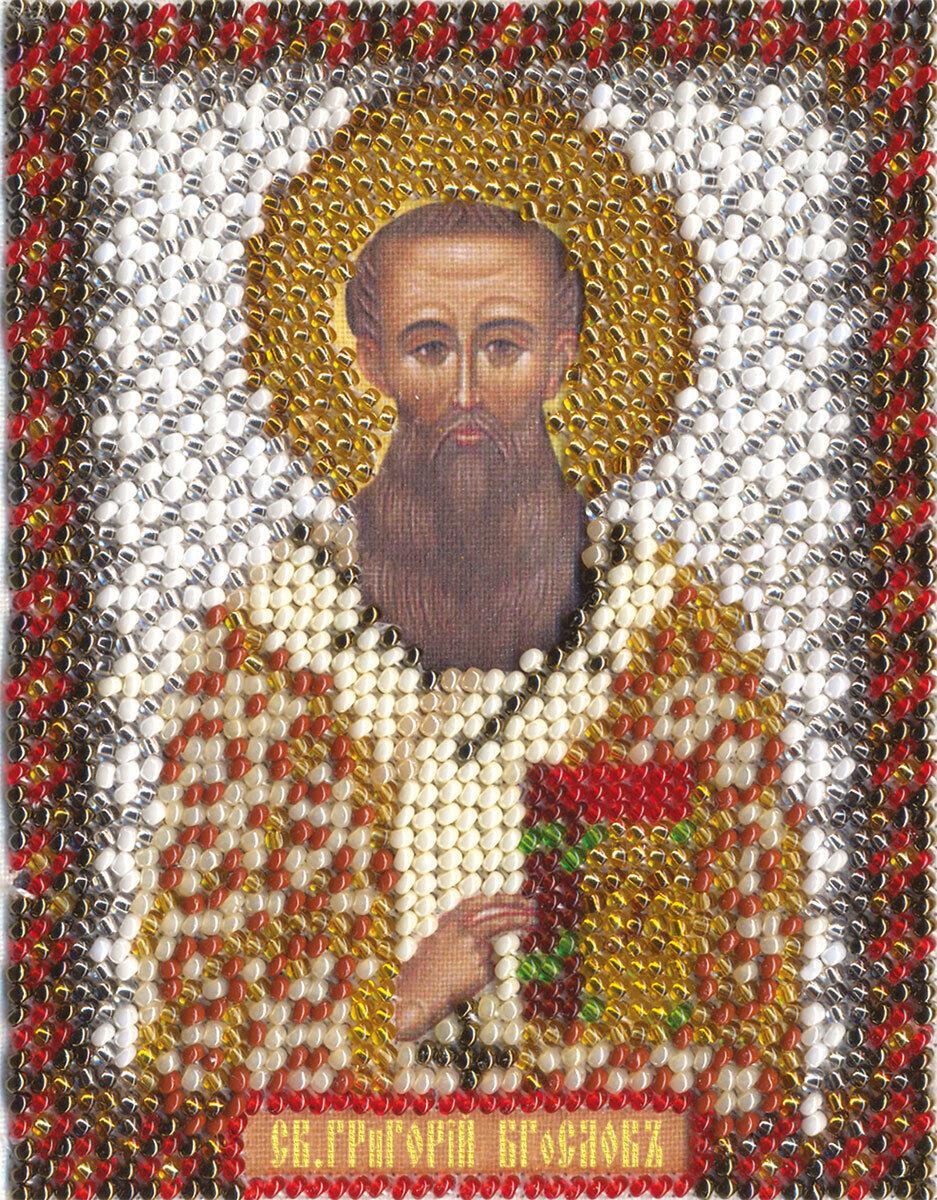 """Набор для вышивания """"PANNA"""" CM-1212 """"Икона Святителя Григория Богослова"""" 8,5x10,5 см"""