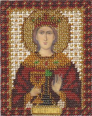 """Набор для вышивания """"PANNA"""" CM-1210 """"Икона Св. Великомученицы Варвары"""" 8,5x10,5 см"""