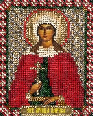 """Набор для вышивания """"PANNA"""" CM-1462 """"Икона Святой мученицы Ларисы"""" 8,5x10,5 см"""