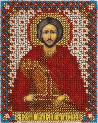"""Набор для вышивания """"PANNA"""" CM-1416 """"Икона Св. Влкм. Никиты Воина Константинопольского"""" 8,5x11 см"""