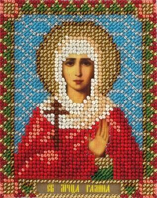 """Набор для вышивания """"PANNA"""" CM-1461 """"Икона Святой мученицы Галины"""" 8.5x10,5 см"""