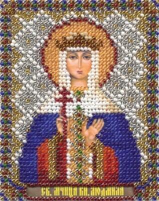 """Набор для вышивания """"PANNA"""" CM-1365 """"Икона св. мученицы княгини Людмилы"""" 8,5x11 см"""