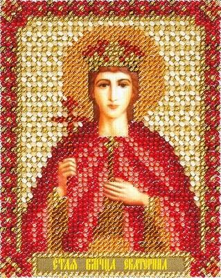 """Набор для вышивания """"PANNA"""" CM-1433 """"Икона Святой Великомученицы Екатерины"""" 8,5x11 см"""
