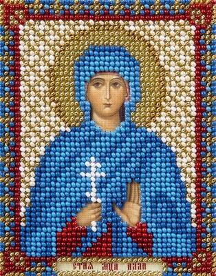 """Набор для вышивания """"PANNA"""" CM-1750 """"Икона Святой мученицы Аллы Готфской"""" 8,5x11 см"""