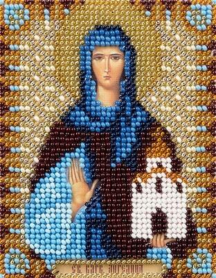 """Набор для вышивания """"PANNA"""" CM-1752 """"Икона Святой преподобной Ангелины Сербской"""" 8,5x11 см"""