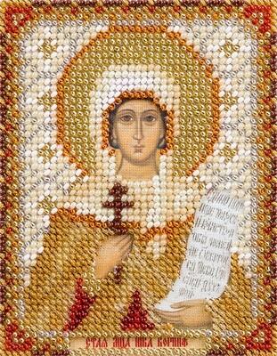 """Набор для вышивания """"PANNA"""" CM-1753 """"Икона Святой мученицы Ники Коринфской"""" 8,5x11 см"""