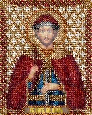 """Набор для вышивания """"PANNA"""" CM-1876 """"Икона Святого благоверного князя Игоря Черниговского"""" 8,5x11 см"""