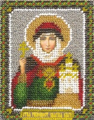 """Набор для вышивания """"PANNA"""" CM-1304 """"Икона Святой равноапостольной Княгини Ольги"""" 8,5x11 см"""