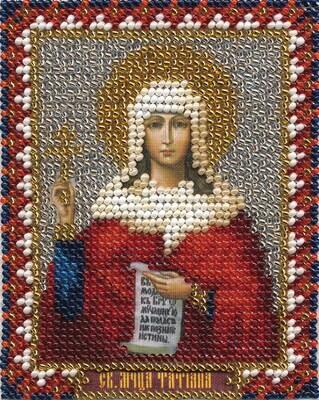 """Набор для вышивания """"PANNA"""" CM-1306 """"Икона святой мученицы Татьяны"""" 8,5x11 см"""