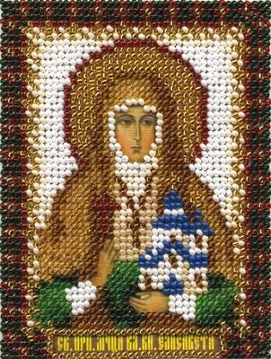 """Набор для вышивания """"PANNA"""" CM-1313 """"Икона Преподобной мученицы Великой княгини Елизаветы"""" 8,5x10,5 см"""